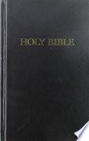 Book Pew Bible KJV