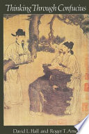 Thinking Through Confucius