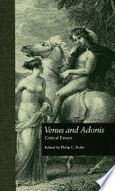 Venus And Adonis : to shakespeare's first published work, his long...