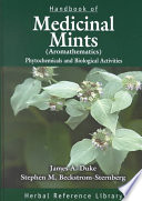 Handbook of Medicinal Mints   Aromathematics