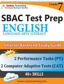 SBAC Test Prep  Grade 7 English Language Arts Literacy  ELA  Common Core Practice Book and Full length Online Assessments