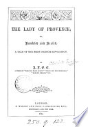 download ebook the lady of provence; or, humbled and healed, by a.l.o.e. pdf epub