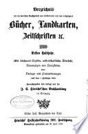 Verzeichniss der im deutschen Buchhandel neu erschienenen und neu aufgelegten B  cher  Landkarten  Zeitschriften u