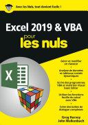 Excel 2019 VBA pour les Nuls, mégapoche