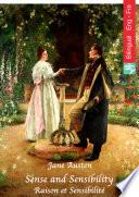 Sense and Sensibility  English French edition illustrated