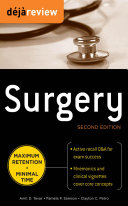 download ebook deja review surgery, 2nd edition pdf epub