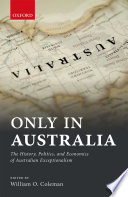 Only In Australia book