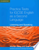 Practice Tests for IGCSE English as a Second Language Book 2