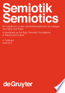 Semiotik / Semiotics. 4. Teilband