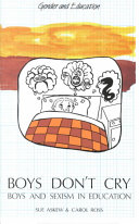 Boys Don't Cry Boys and Sexism in Education
