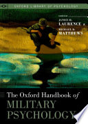 The Oxford Handbook of Military Psychology