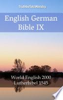 English German Bible IX