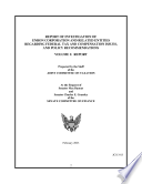 Report of Investigation of Enron Corporation and Related Entities Regarding Federal Tax and Compensation Issues  Etc   Volume I  Report  February 2003