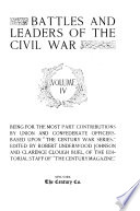 Battles And Leaders Of The Civil War book