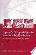 Corporate Social Responsibility in the Promotion of Social Development