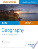 CCEA A level Geography Student Guide 2  AS