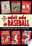 100 Years of Who s Who in Baseball