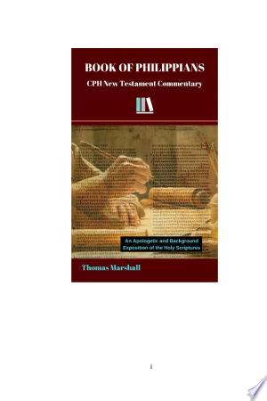 BOOK OF PHILIPPIANS - ISBN:9780692344507