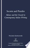 Secrets and Puzzles