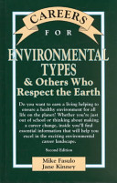 Careers For Environmental Types Others Who Respect The Earth