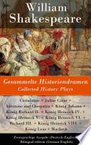 download ebook gesammelte historiendramen / collected history plays - zweisprachige ausgabe (deutsch-englisch) / bilingual edition (german-english) pdf epub