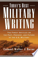 Today s Best Military Writing