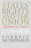 States  Rights and the Union