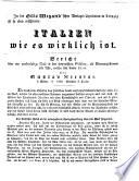 In der Otto Wigand'schen Verlags-Expedition in Leipzig ist so eben erschienen: ITALIEN wie es wirklich ist