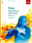 Flute Exam Pieces 2018-2021, ABRSM Grade 1