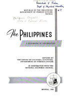 The Philippines: a Handbook of Information