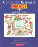 Computer Dictionary for Kids   and Their Parents