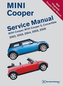 MINI Cooper Service Manual