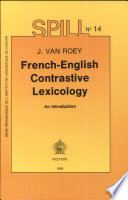 French English Contrastive Lexicology
