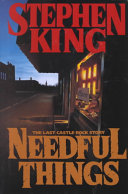 Needful Things-book cover