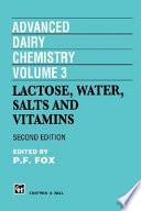 Advanced Dairy Chemistry Volume 3 book