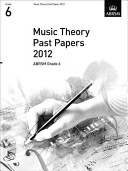 Music Theory Past Papers 2012  ABRSM Grade 6