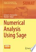 Numerical Analysis Using Sage