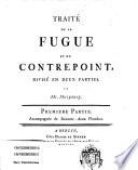 Traité De La Fugue Et Du Contrepoint