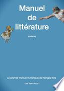 Manuel de littérature