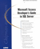 Microsoft Access Developer s Guide to SQL Server
