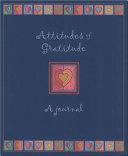 Attitudes of Gratitude Journal