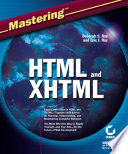 Mastering HTML and XHTML