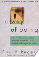 A Way of Being by Carl Ransom Rogers