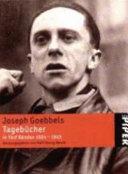 Tagebücher 1924 - 1945