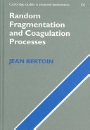 Random Fragmentation and Coagulation Processes