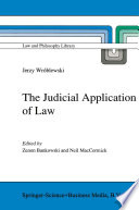 The Judicial Application of Law