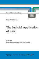 download ebook the judicial application of law pdf epub
