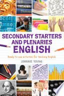 Secondary Starters and Plenaries  English