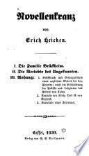Novellenkranz von Erich Heicken