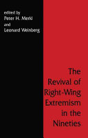 The Revival of Right-wing Extremism in the Nineties